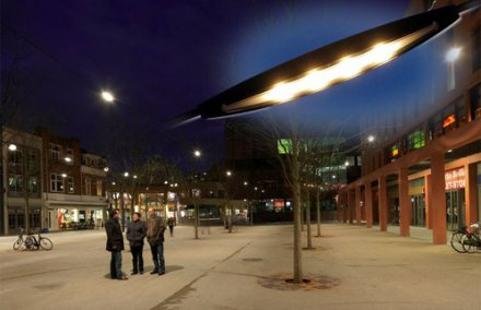 Eindhoven First with Philips 'Floating' LED Street Lighting