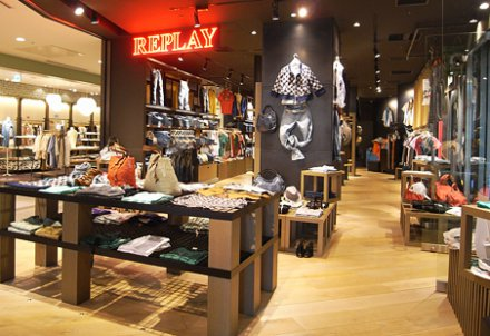 LED lighting project Case: Replay flagship store in Sanlitun Beijing