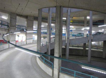 LEDs used to upgrade parking garage in Germany