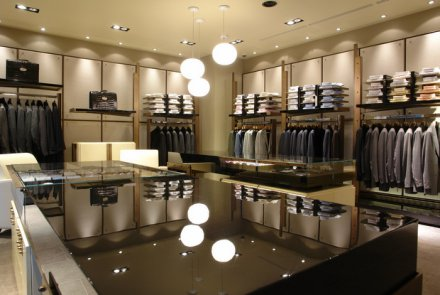 Retail lighting with LED technology