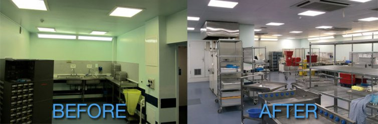LED retrofit achieves significant savings for Brighton hospital