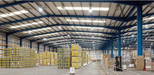 Global logistics provider sees payback from LEDs in just over a year.