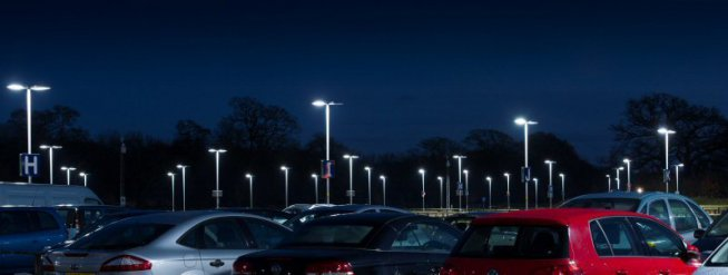 Bournemouth Airport to save 72% on car park lighting costs by switching to LED