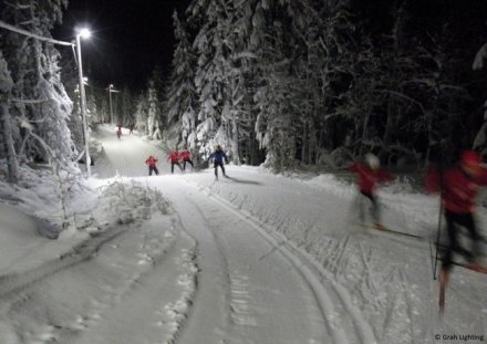 LED products to illuminate ski track in Norway