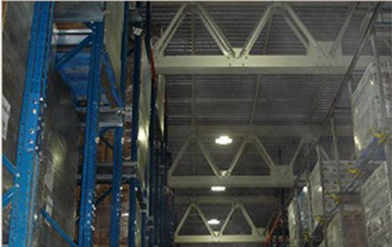 McCain frozen foods - Scarborough facility uses LED lighting