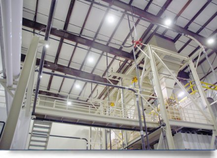 New Diamond Pet Foods Facility Achieves Less than Two Year Payback with LED Lighting Fixtures