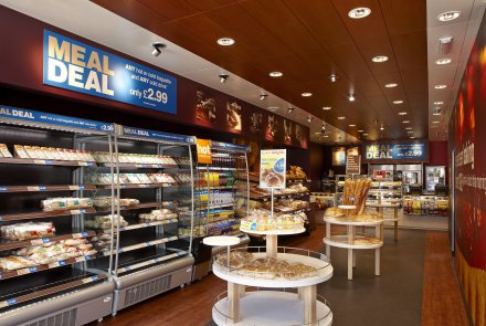 Greggs Plc becomes the first European Retailer  to light it's retail space with LED Technology