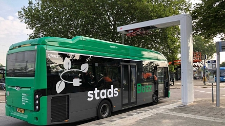 Qbuzz orders 100 fast chargers for buses from ABB