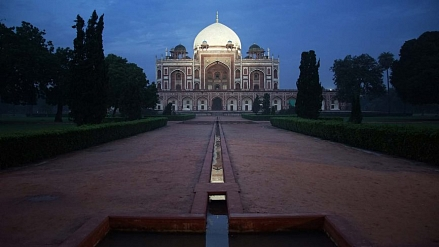 Humayun's Tomb Dome will glitter with LEDs in the nights