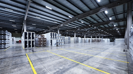 IKEA Warehouse - Logistic excellence in new light