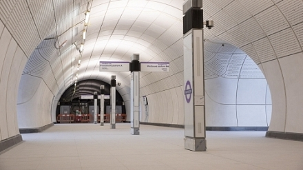 Future Designs reveals custom LED lighting scheme for UK Crossrail project