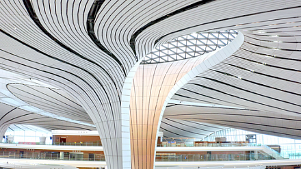 Osram still in lighting, illuminates new Beijing airport