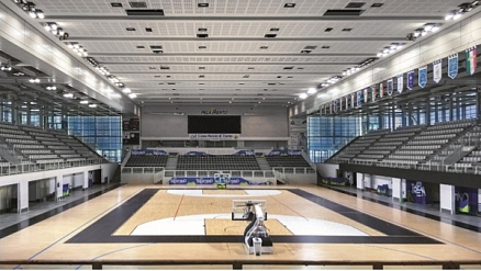 A real sporting spectacle: lighting of the revamped PalaTrento arena