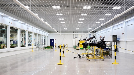 SCANIA Smart Factory - Light for bright innovations