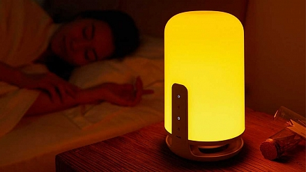 Xiaomi has introduced the world's first lamp that does not harm sleep