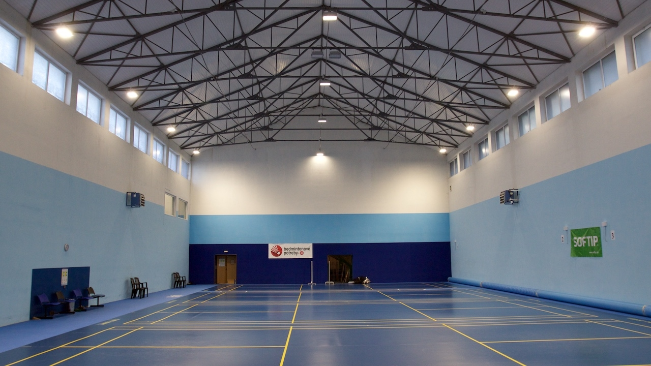 LED modernisation of the lighting system in sport hall
