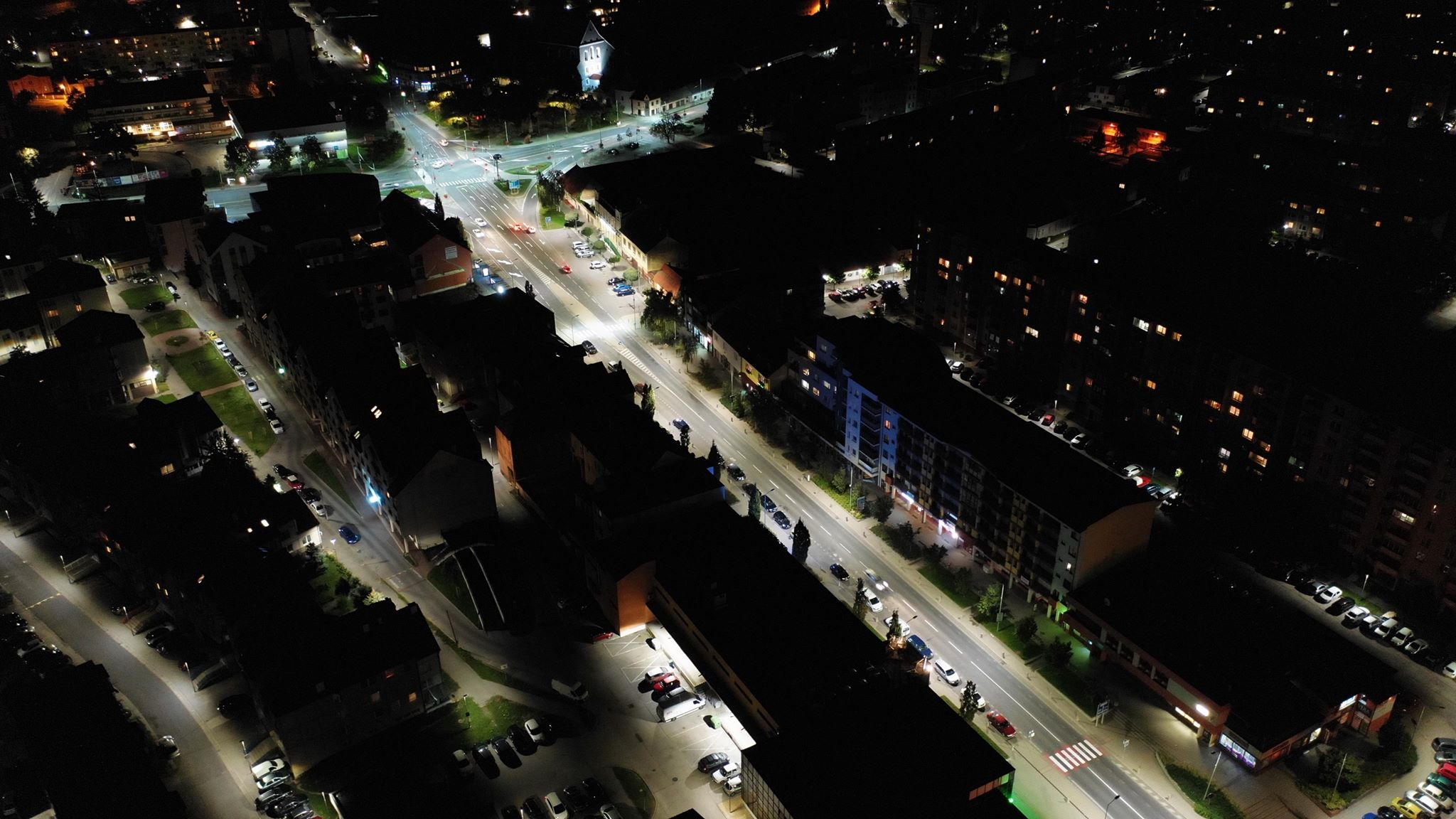 Complex modernisation of public lighting - 2nd stage