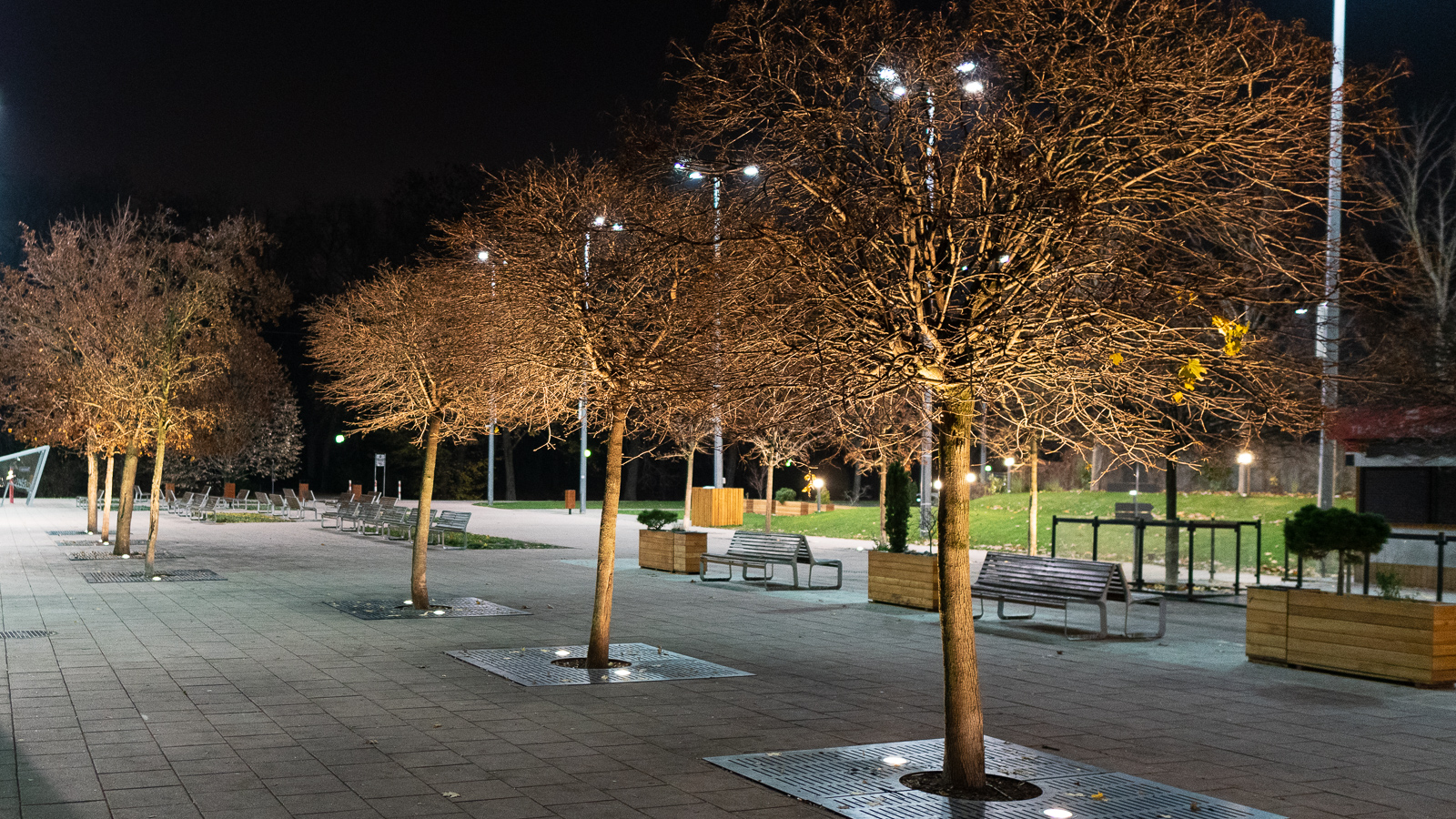 Lighting of outdoor areas