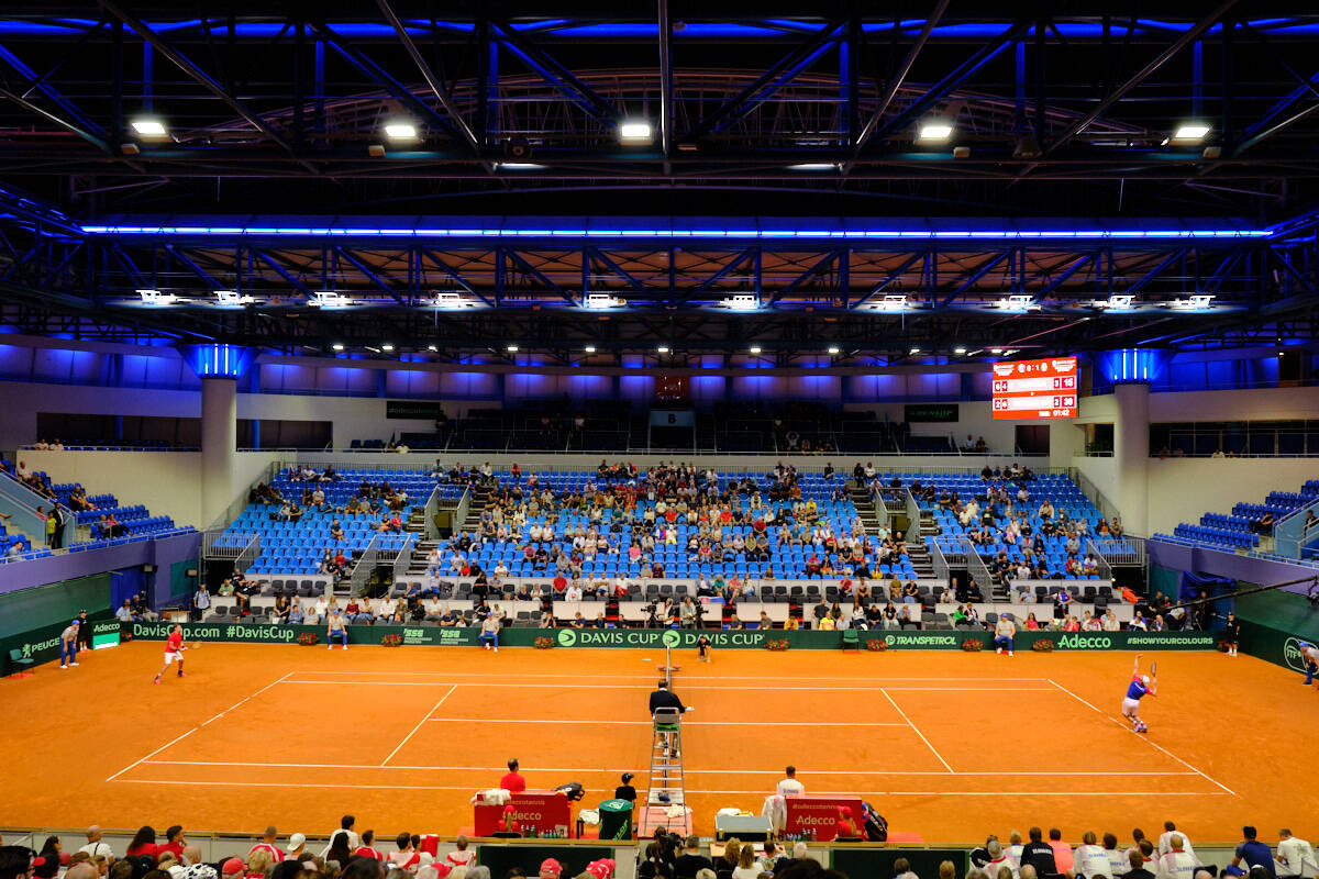 National Tennis Center in Bratislava